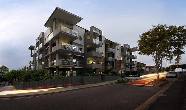St Lucia Brisbane Apartment Building